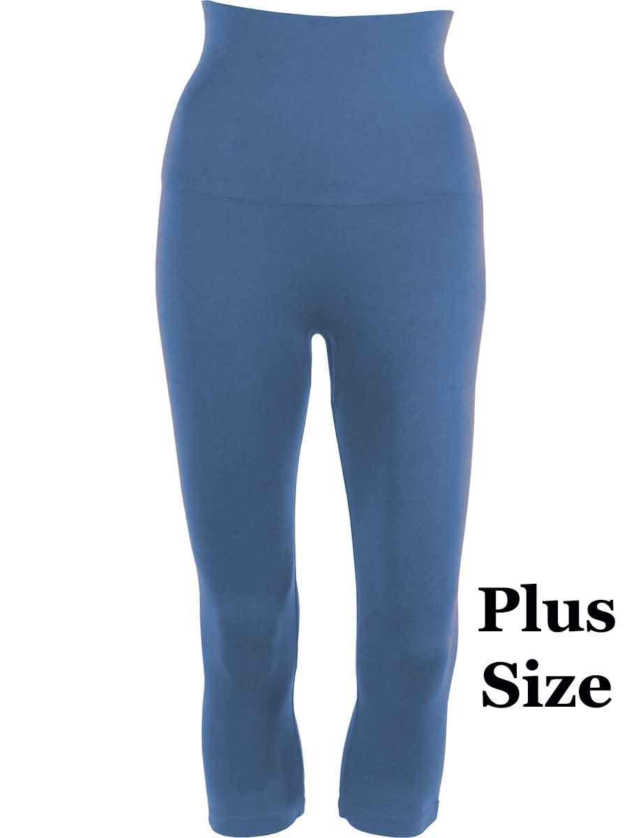 Denim Plus Tummy Control SmoothWear Capri Leggings