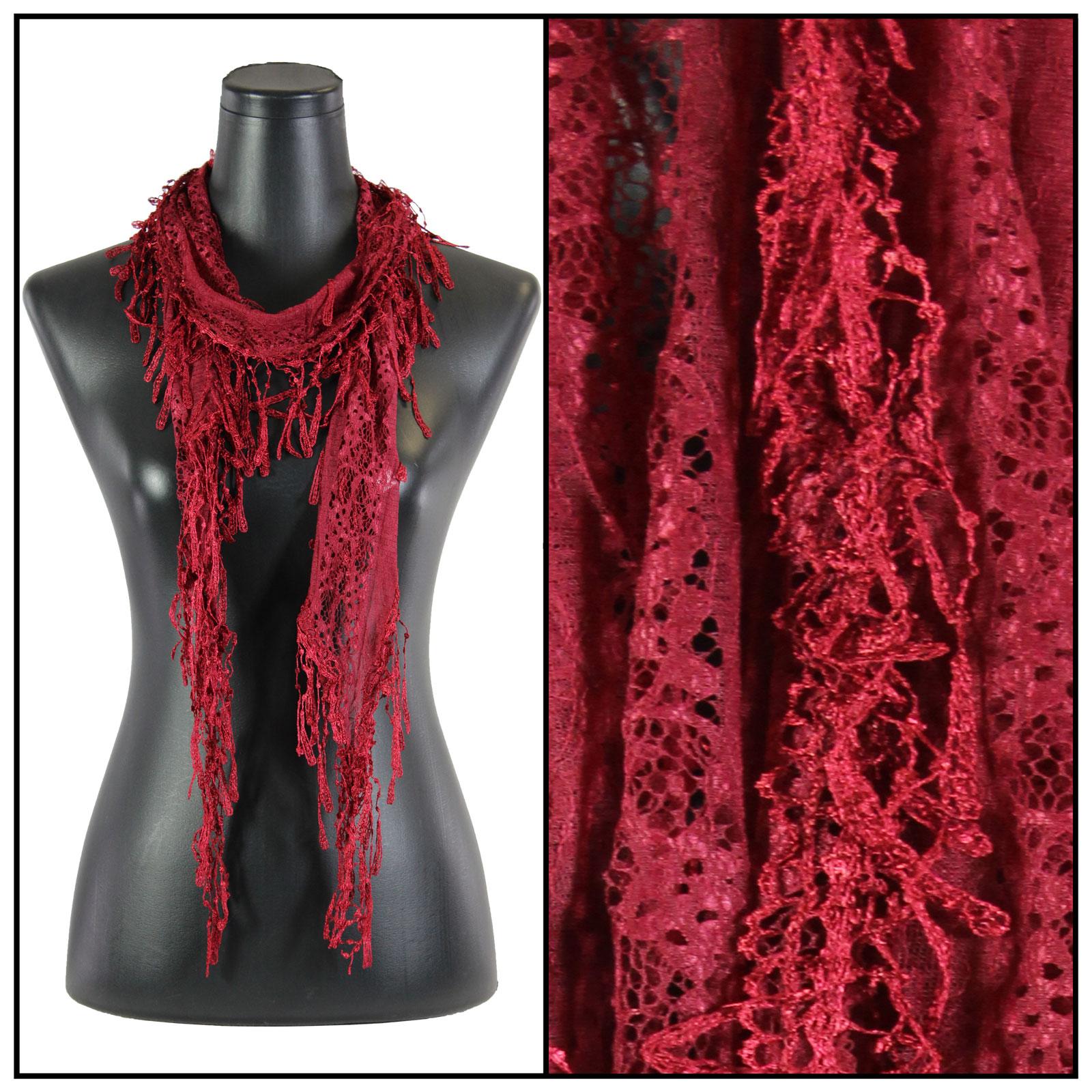 magic scarf oblong scarves lace confetti