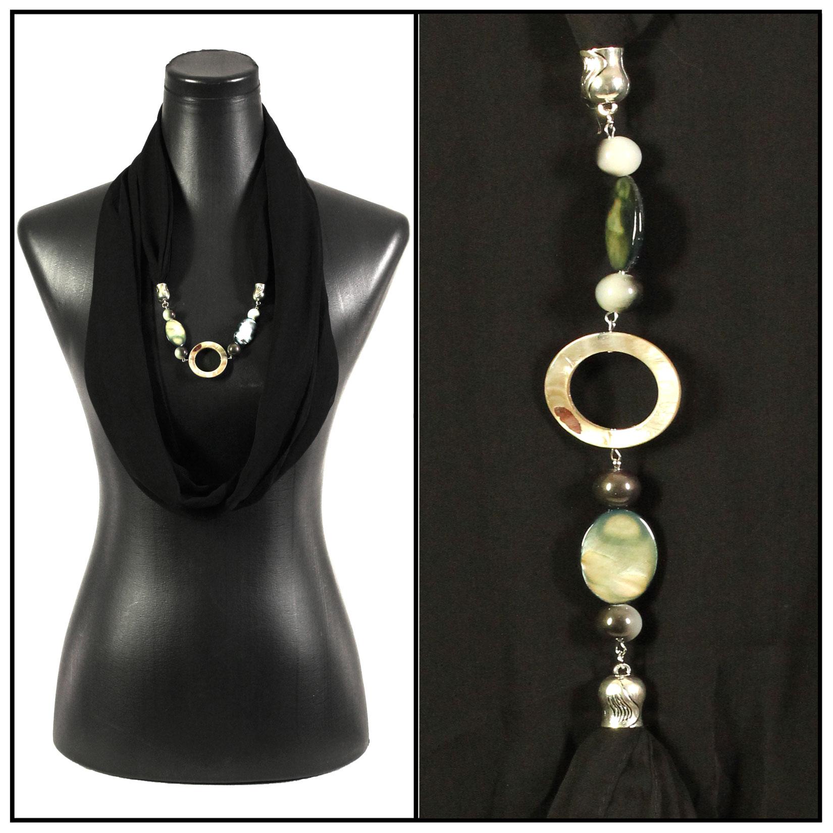 Jewelry Infinity Silky Dress Scarves