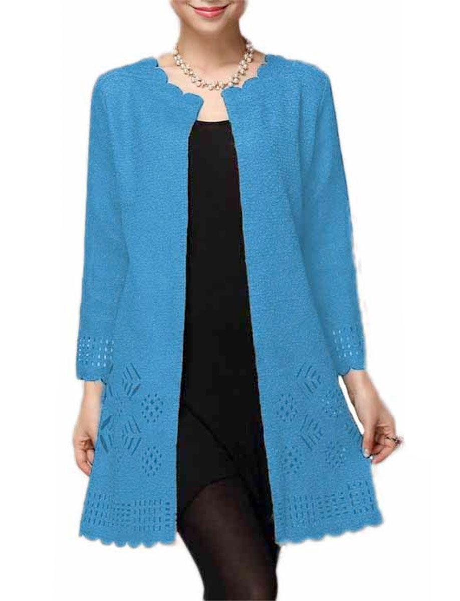 Art Crush - Swing Jacket - Turquoise