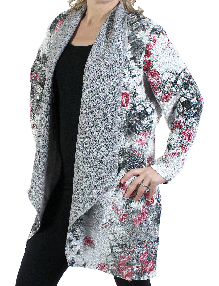 magic scarf crush cardigan prints