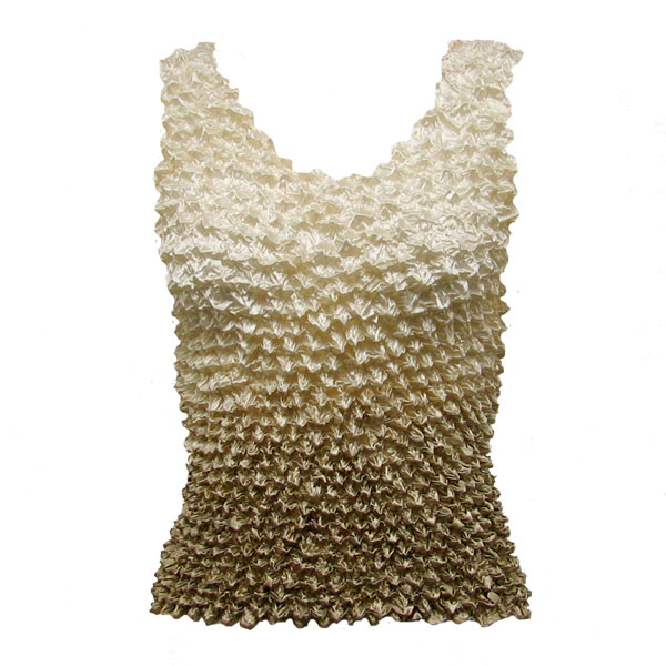 Wholesale Gourmet Popcorn - Tank Tops Variegated Tan - One Size (S-XL)