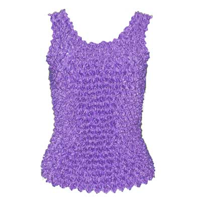 Wholesale Gourmet Popcorn - Tank Tops Light Violet  - One Size (S-XL)