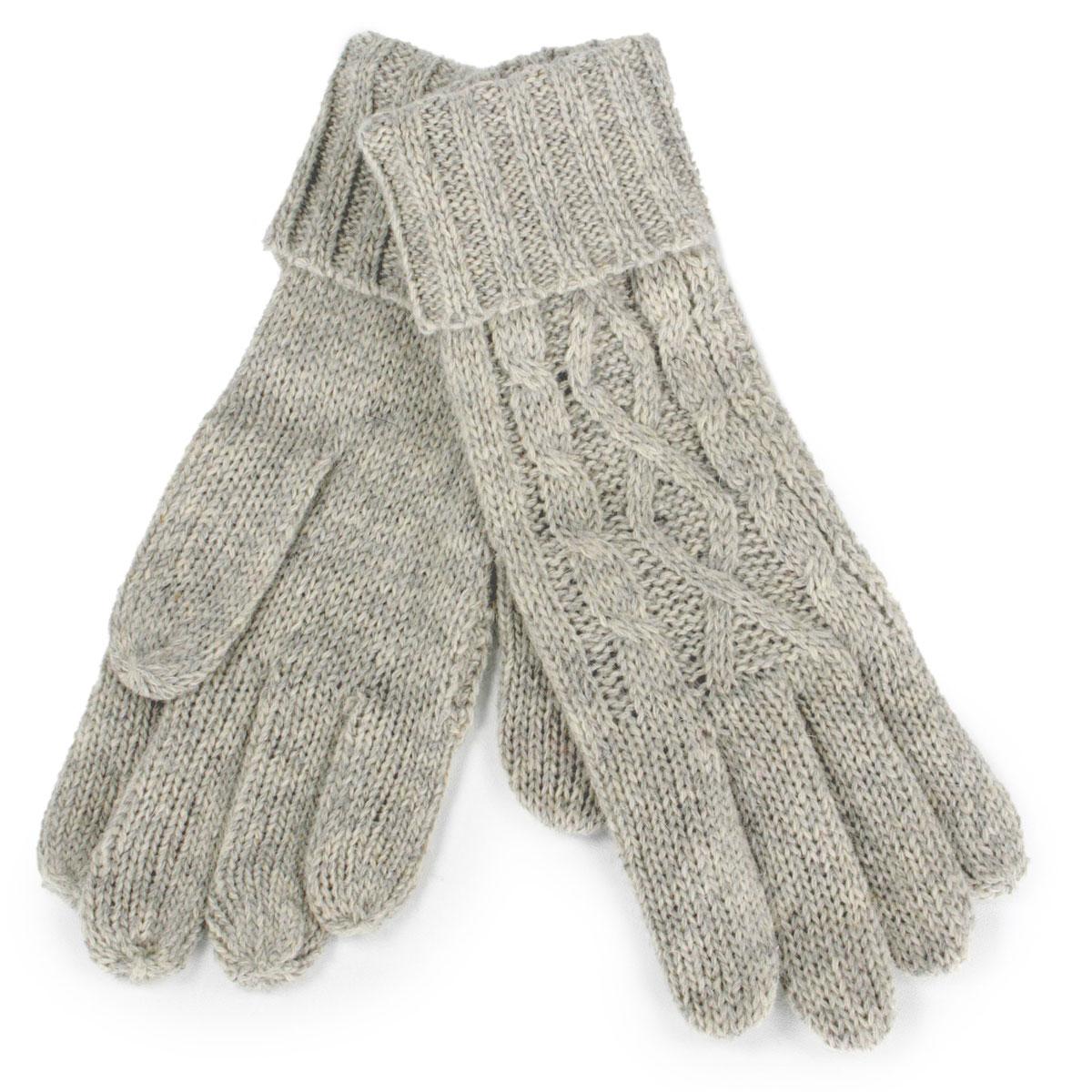 Knit Gloves - 3506/ 3519 - 3504 Diamond Pattern Knit Gloves