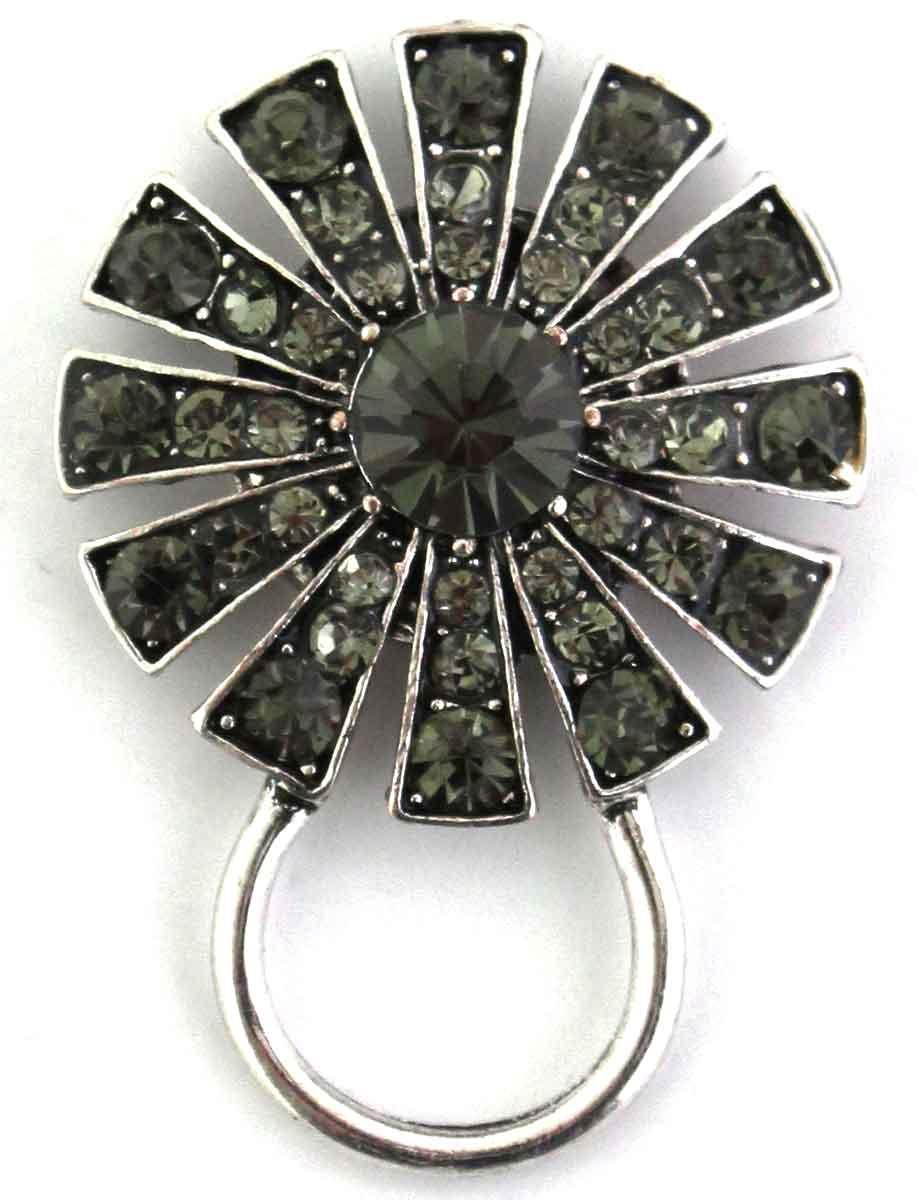 Magnetic Eyeglass Holder - 408 Hematite