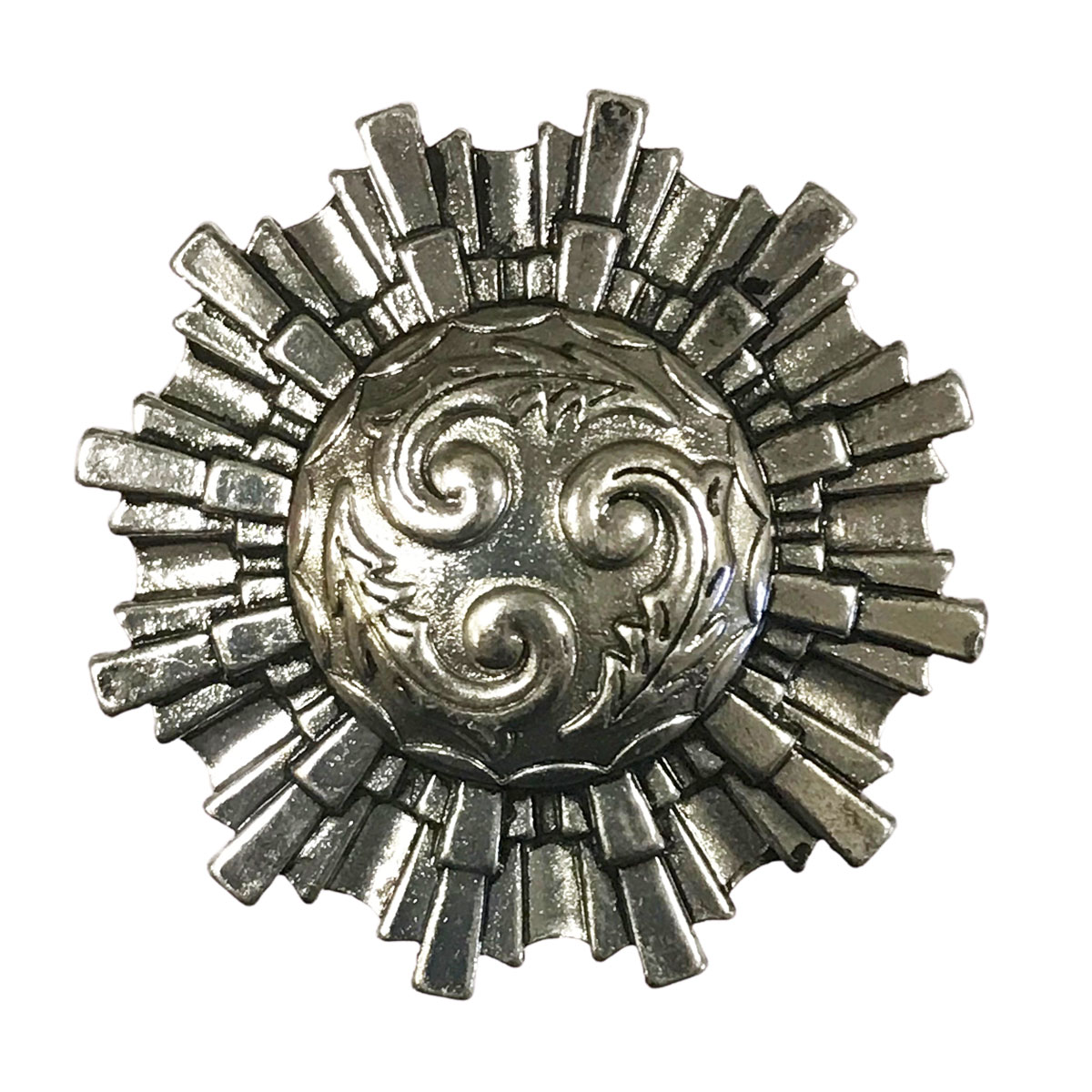 Magnetic Brooches - Artful Design - Plain Back - 601 Aztec Sun Magnetic Brooch