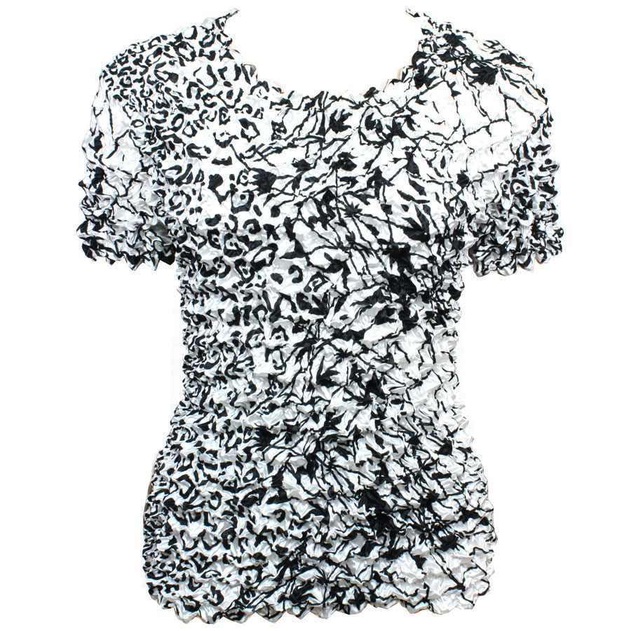 Wholesale Gourmet Popcorn - Short Sleeve Abstract Animal-Linear - One Size (S-XL)