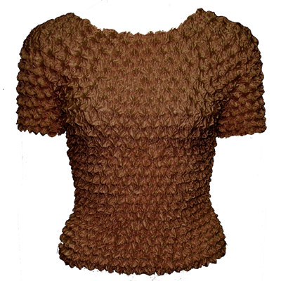 Wholesale Gourmet Popcorn - Short Sleeve Brown - One Size (S-XL)