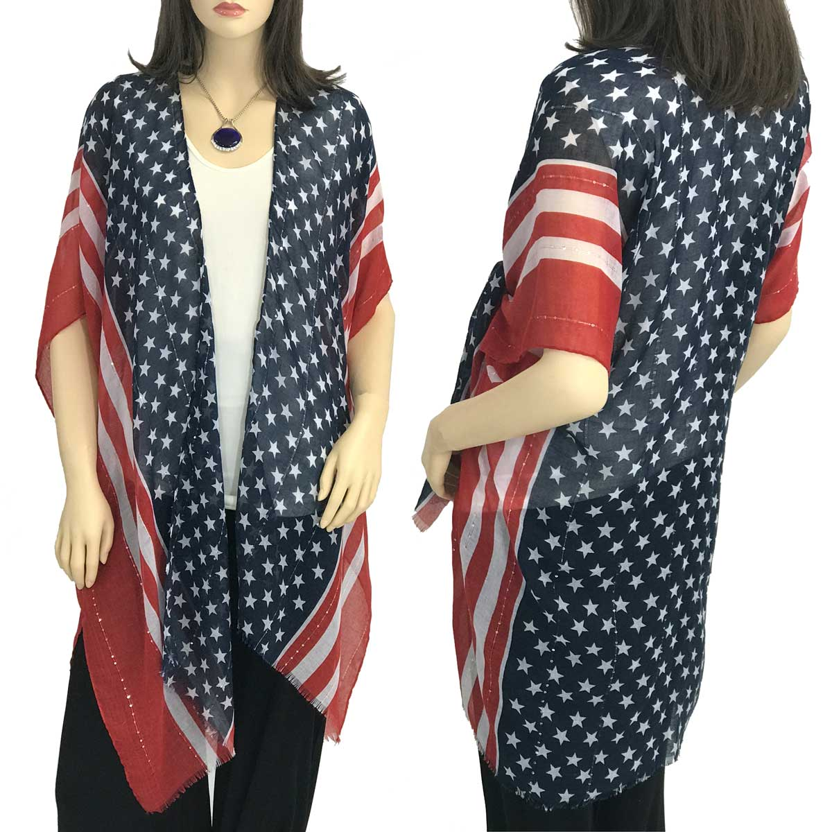 American Flag 9644 with Sequins