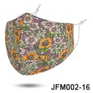 Protective Masks by Jessica - #16 Daisy Field (100% Cotton)
