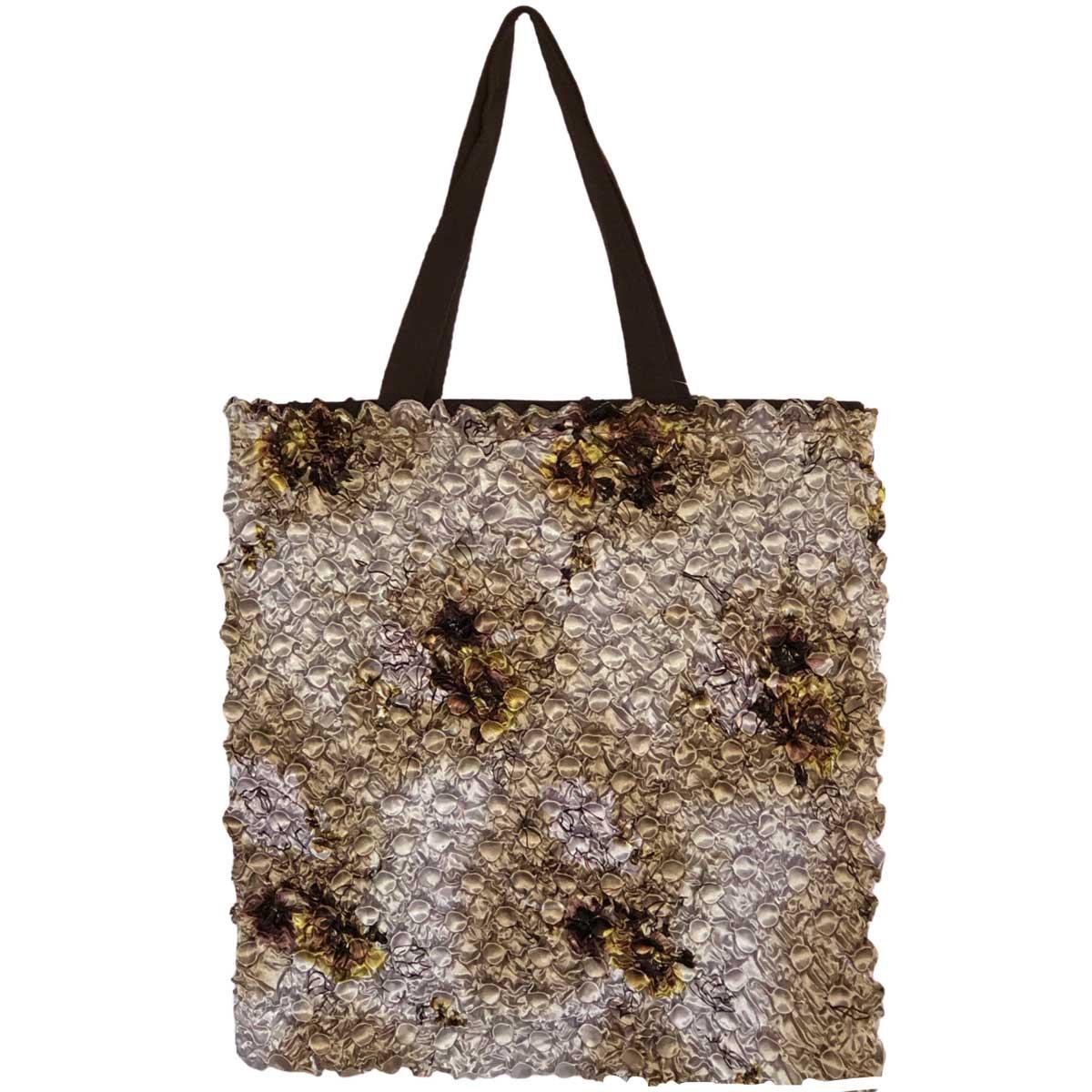 Artful Tote Bags  - #27 Beige Floral