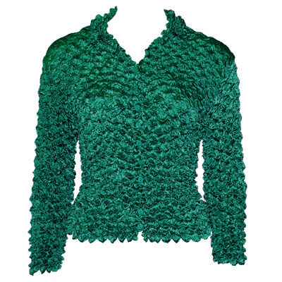 Wholesale Gourmet Popcorn - Cardigans with Collar Seagreen - One Size (S-XL)
