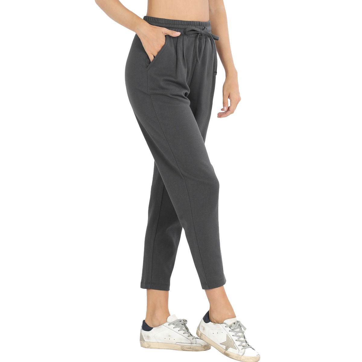 Pants - Cotton w/ Drawstring Waistband 32061 - ASH GREY Pants - Cotton w/ Drawstring Waistband 32061