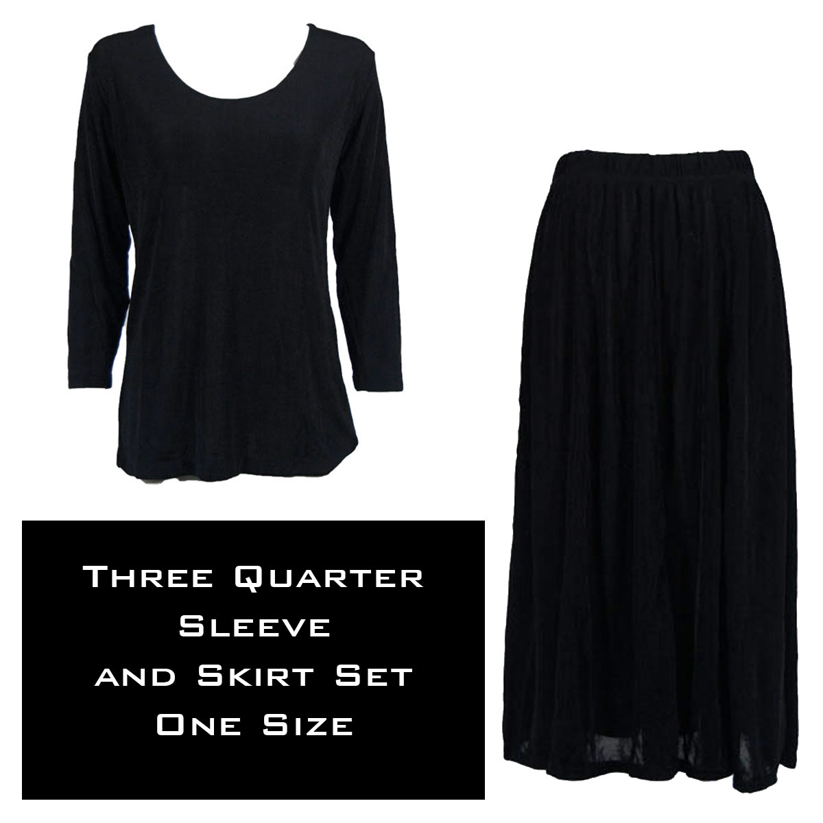 Slinky Skirt and Top Sets SST 3430