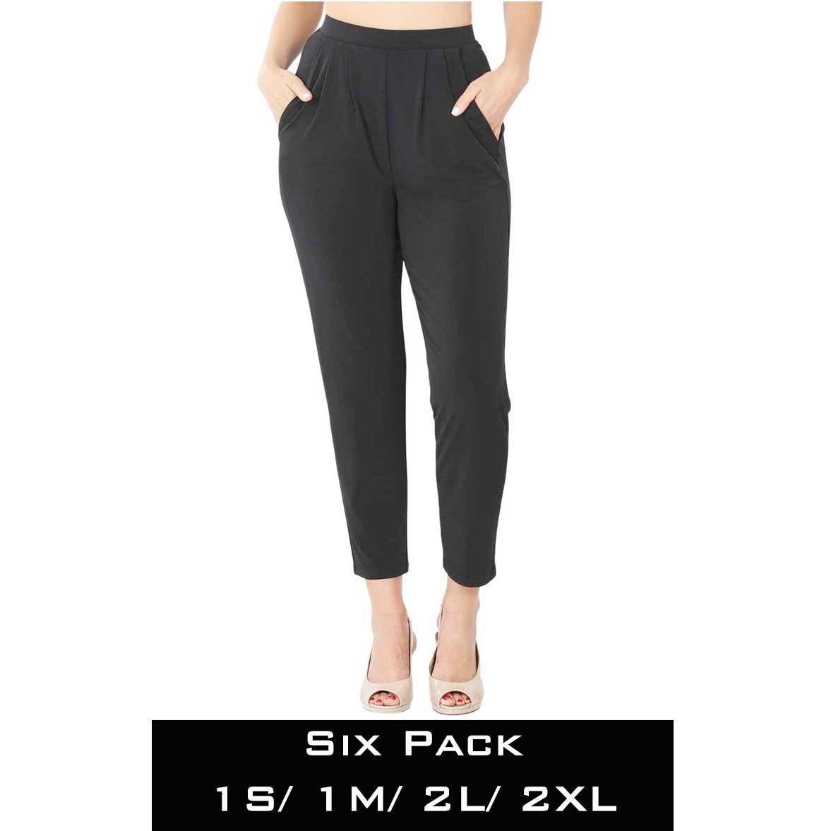 Ity Pleated Waist Pants w/ Side Pockets 10019
