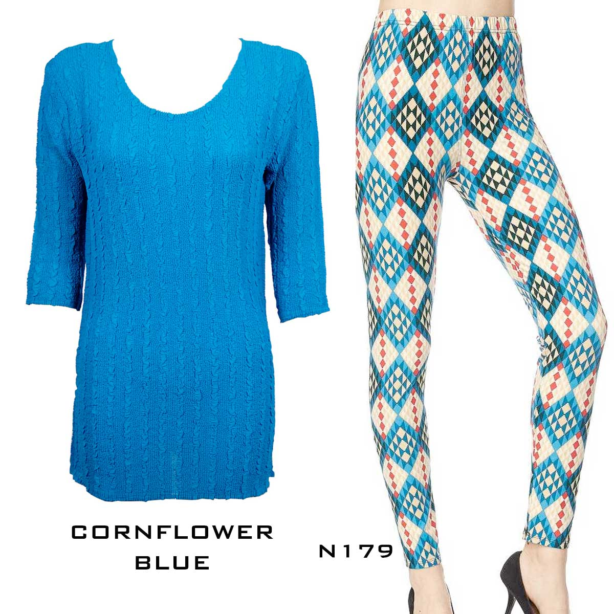 Sets- Georgette Tunic with Leggings (GCST)