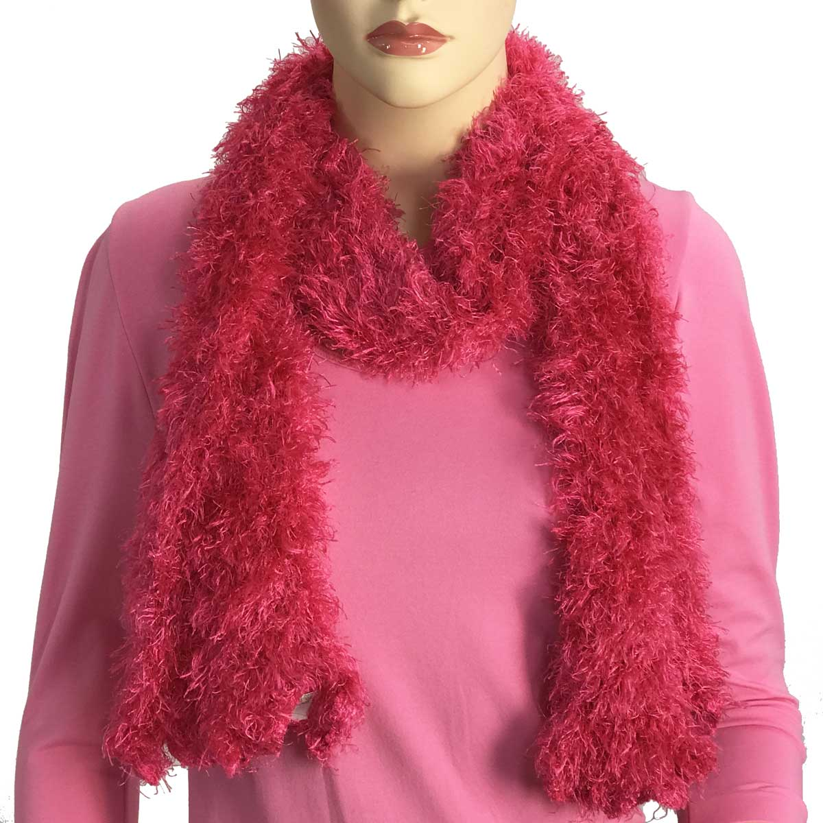 Wholesale Original Moa Boa Magic Scarves  Hot Pink Moa Boa Magic Scarf -