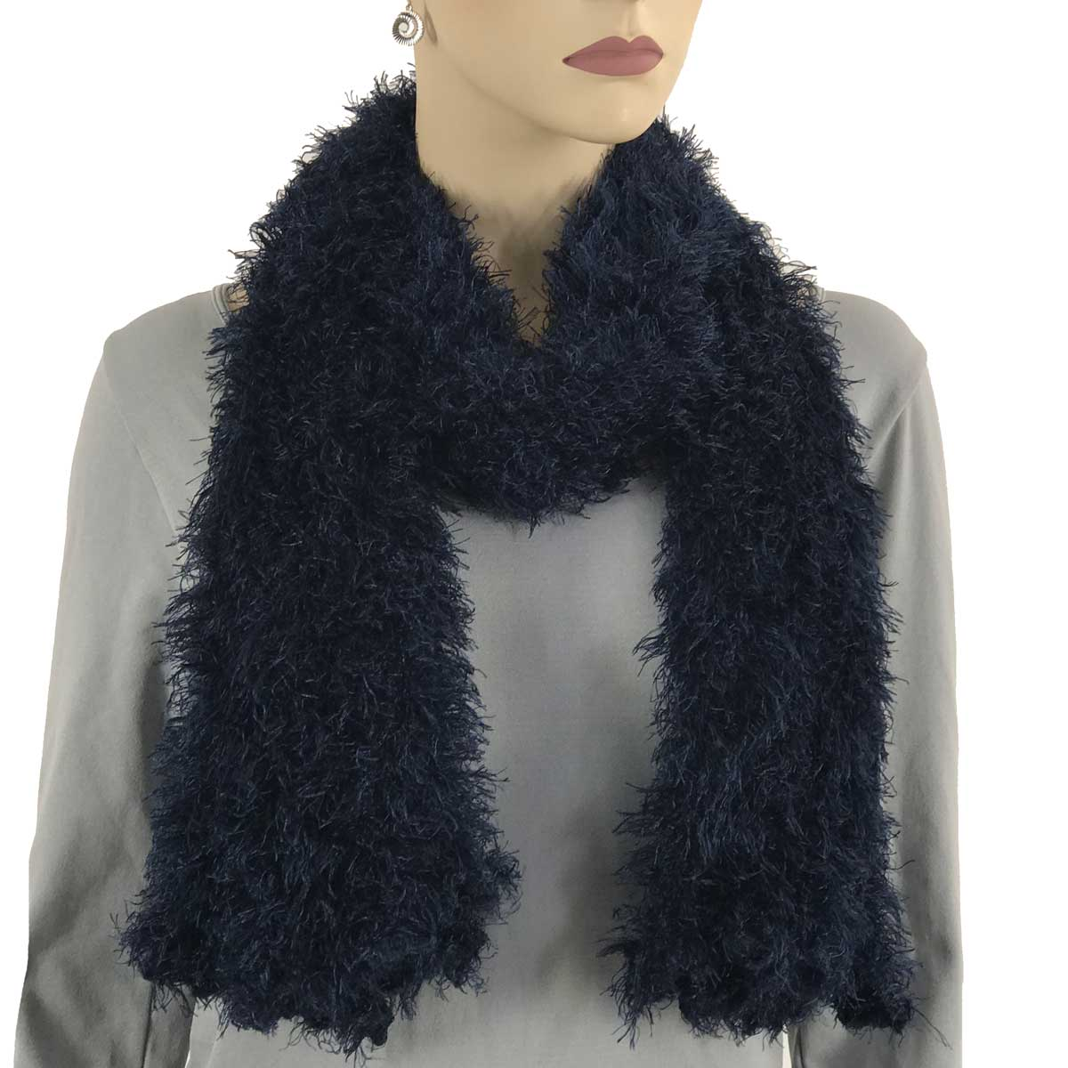 Wholesale Original Moa Boa Magic Scarves  Navy Moa Boa Magic Scarf -
