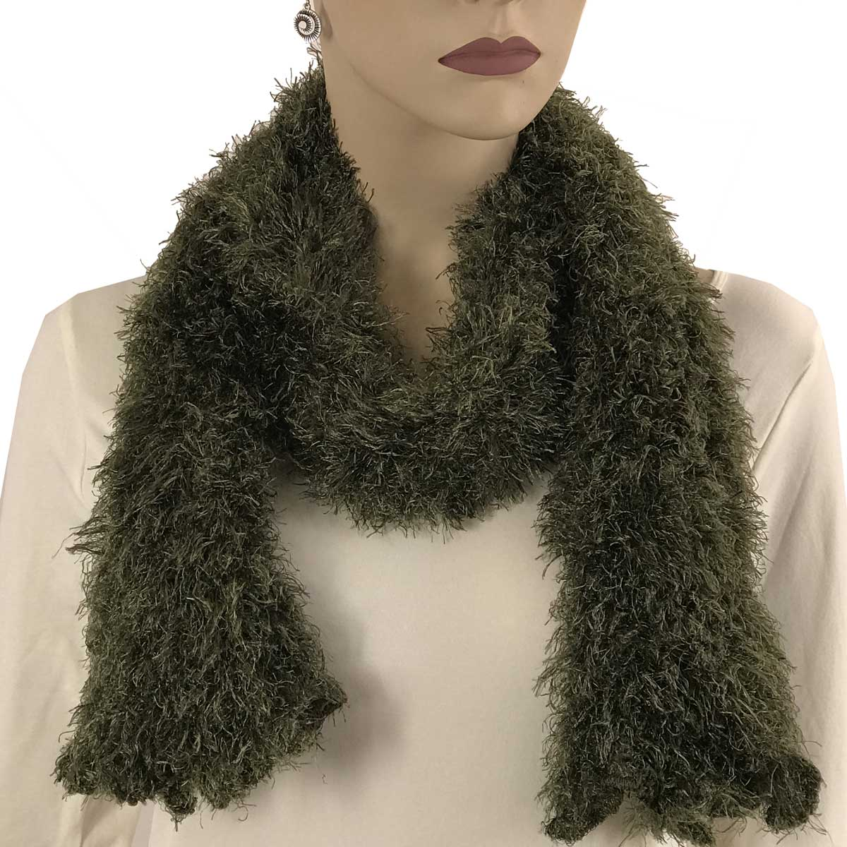 Wholesale Original Moa Boa Magic Scarves  Olive Moa Boa Magic Scarf -