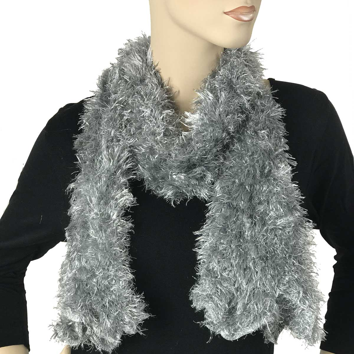 Wholesale Original Moa Boa Magic Scarves  Silver Moa Boa Magic Scarf -