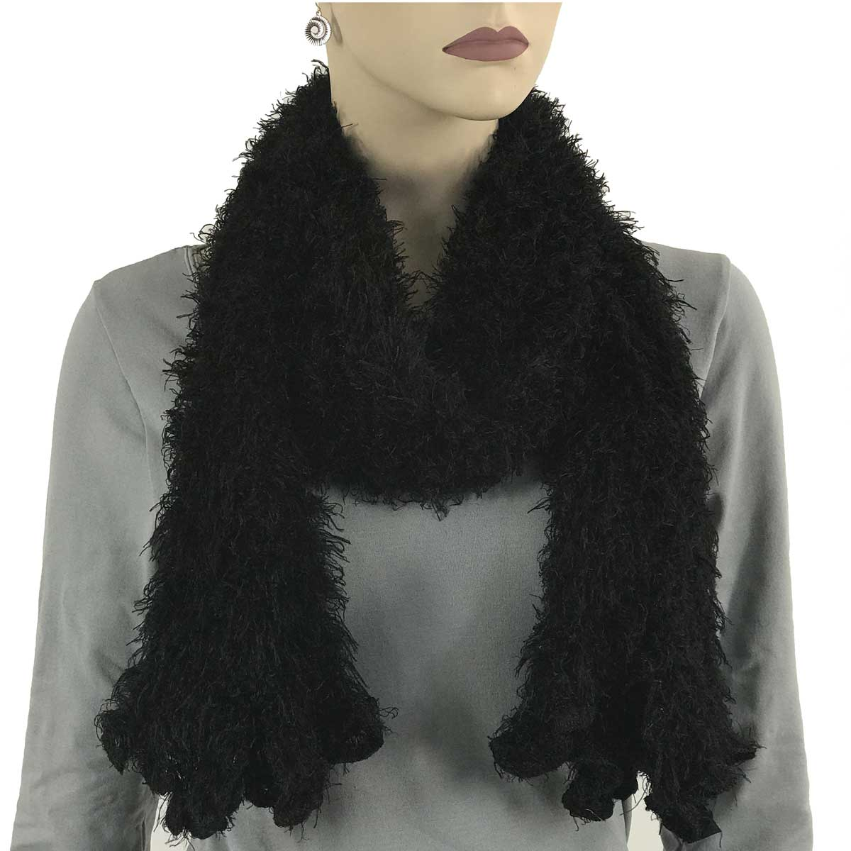 Wholesale Original Moa Boa Magic Scarves  Black -