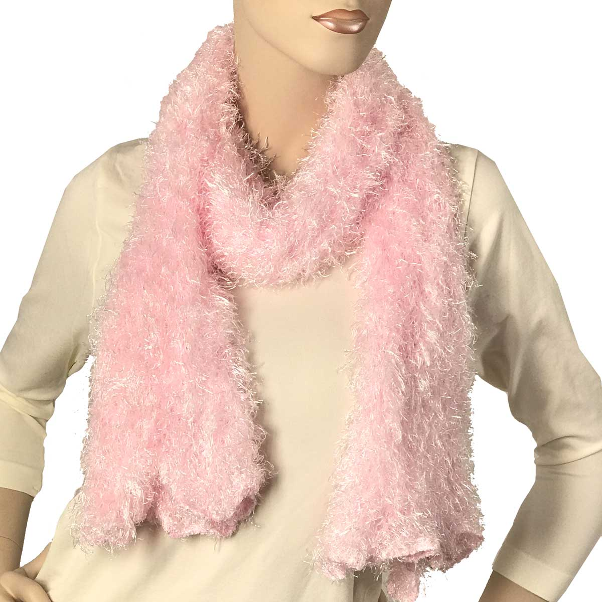 Wholesale Original Moa Boa Magic Scarves  Baby Pink -