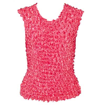 Wholesale Gourmet Popcorn - Sleeveless Shocking Pink  - One Size (S-XL)