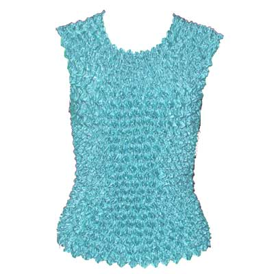Wholesale Gourmet Popcorn - Sleeveless Aqua - One Size (S-XL)