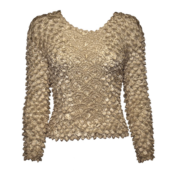 Wholesale Coin Fishscale - Long Sleeve Champagne Coin Fishscale - Long Sleeve - One Size (S-XL)