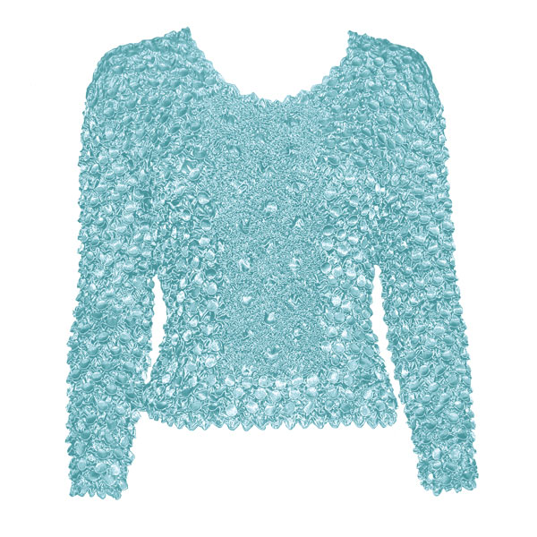 Wholesale Coin Fishscale - Long Sleeve Ice Blue Coin Fishscale - Long Sleeve - One Size (S-XL)
