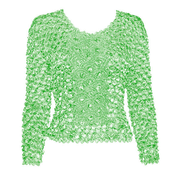 Wholesale Coin Fishscale - Long Sleeve Vivid Mint Coin Fishscale - Long Sleeve - One Size (S-XL)