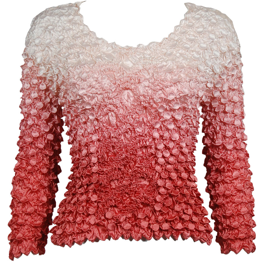 Wholesale Coin Fishscale - Long Sleeve Variegated Coral Coin Fishscale - Long Sleeve - One Size (S-XL)