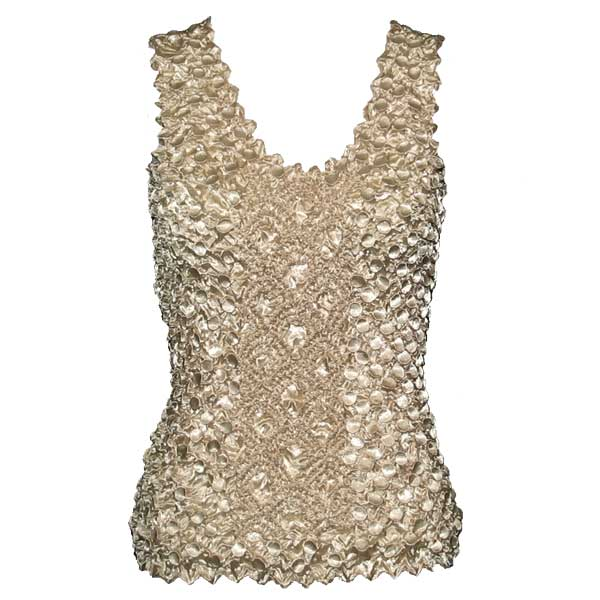Wholesale Coin Fishscale - Tank Top Champagne - One Size (S-XL)