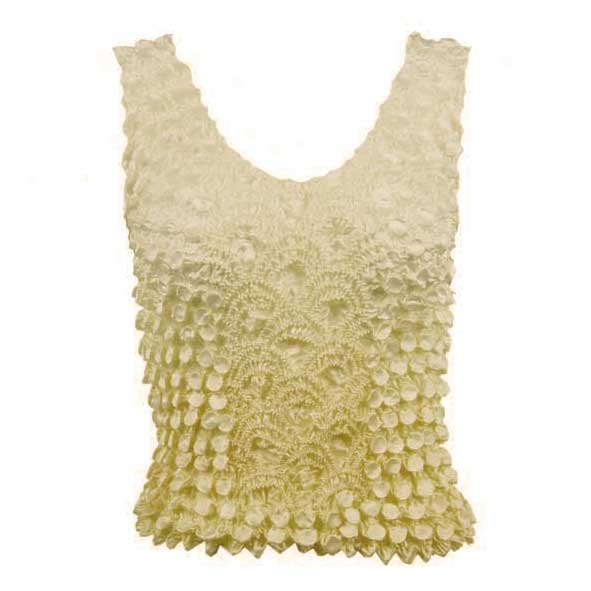 Wholesale Coin Fishscale - Tank Top Two-Tone Yellow - One Size (S-XL)