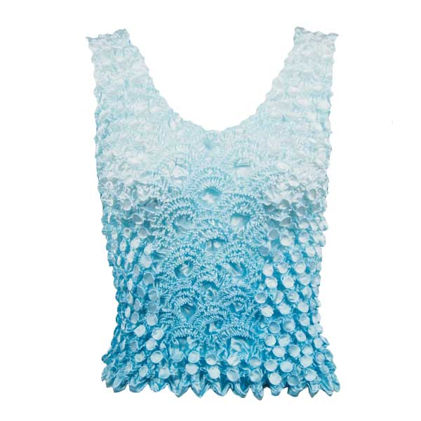 Wholesale Coin Fishscale - Tank Top Two-Tone Baby Blue - One Size (S-XL)