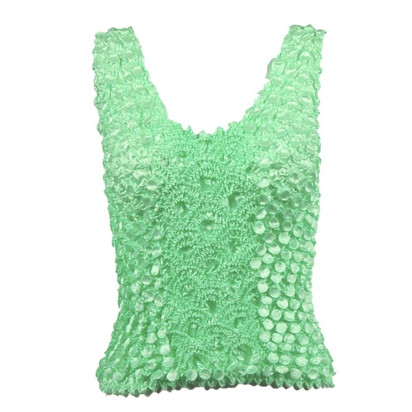 Wholesale Coin Fishscale - Tank Top Vivid Mint - One Size (S-XL)