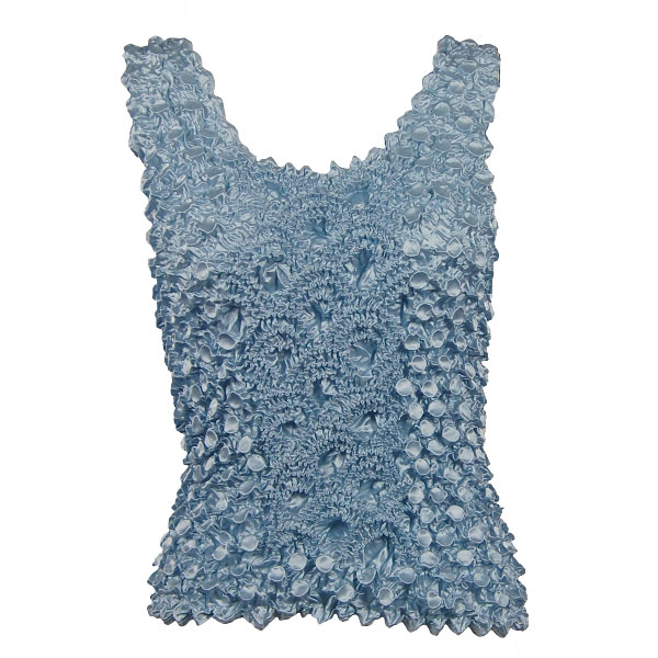Wholesale Coin Fishscale - Tank Top Powder Blue - One Size (S-XL)