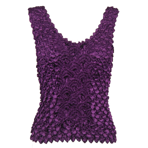 Wholesale Coin Fishscale - Tank Top Eggplant - One Size (S-XL)