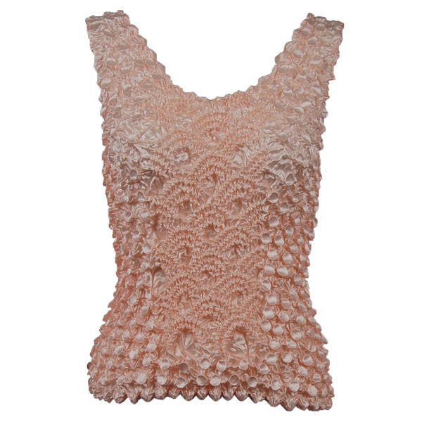 Wholesale Coin Fishscale - Tank Top Light Peach - One Size (S-XL)