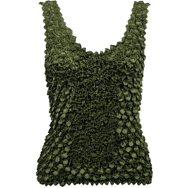 Wholesale Coin Fishscale - Tank Top Olive - One Size (S-XL)