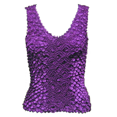 Wholesale Coin Fishscale - Tank Top Purple - One Size (S-XL)