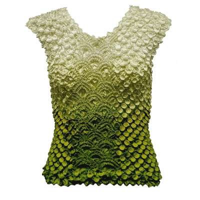 Wholesale Coin Fishscale - Sleeveless Variegated Olive - One Size (S-XL)