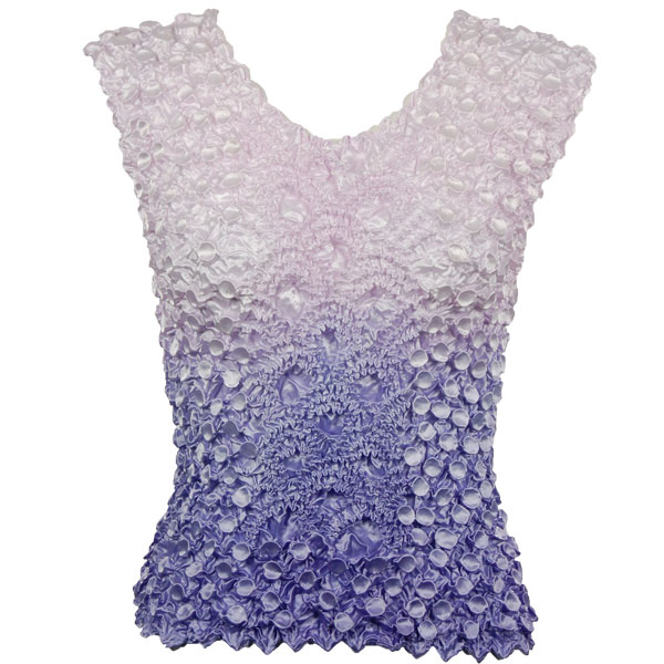 Wholesale Coin Fishscale - Sleeveless Variegated Violet - One Size (S-XL)