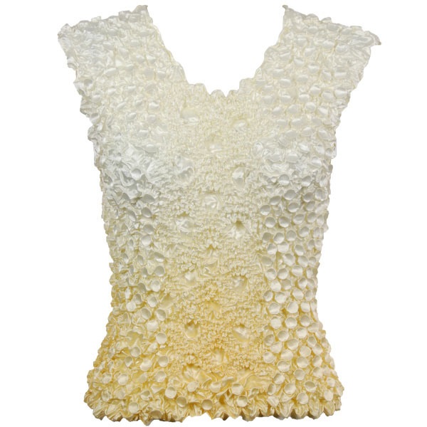 Wholesale Coin Fishscale - Sleeveless Variegated Maize - One Size (S-XL)
