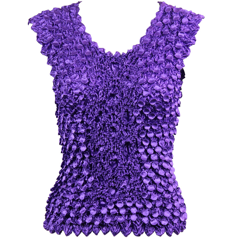 Wholesale Coin Fishscale - Sleeveless Purple - One Size (S-XL)