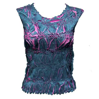 Wholesale Origami - Sleeveless Teal - Flamingo - One Size (S-XL)