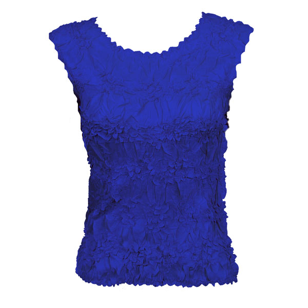 Wholesale Origami - Sleeveless Solid Royal - One Size (S-XL)