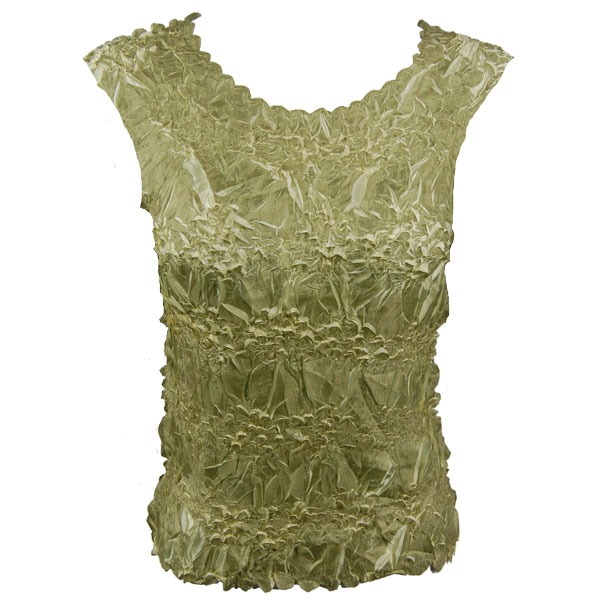 Wholesale Origami - Sleeveless Celery - Lemon - One Size (S-XL)