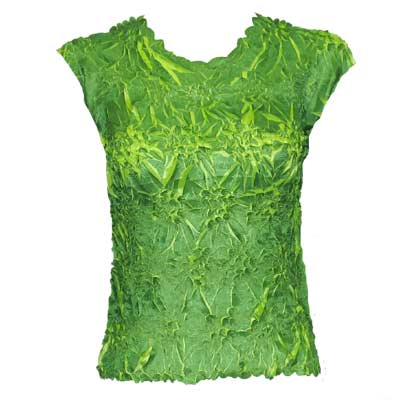 Wholesale Origami - Sleeveless Emerald - Lime - Queen Size Fits (XL-3X)