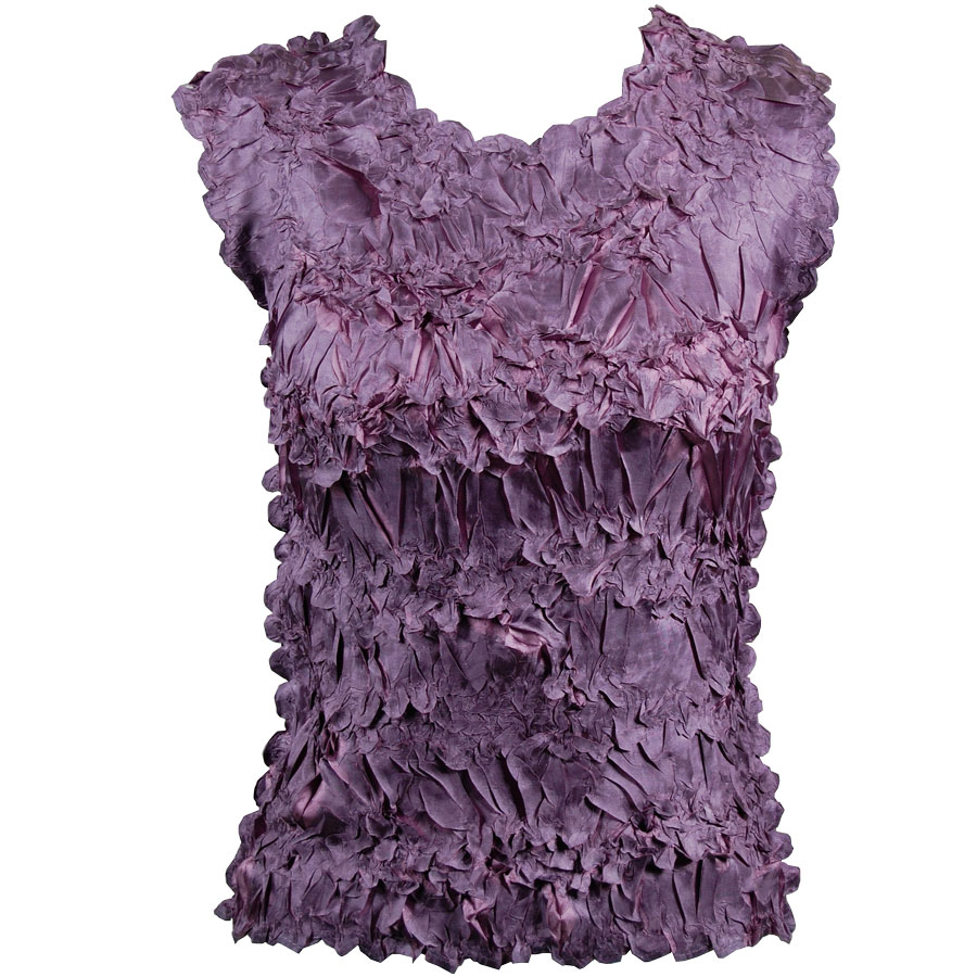 Wholesale Origami - Sleeveless Dark Lilac - Grape - One Size (S-XL)